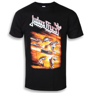 Tričko metal ROCK OFF Judas Priest Firepower černá XL