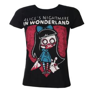 tričko hardcore Akumu Ink Alice's Nightmare černá L