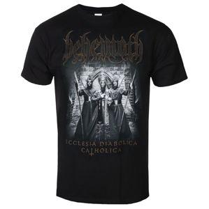 tričko metal KINGS ROAD Behemoth Catholica černá XXL