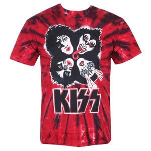 tričko metal LIQUID BLUE Kiss BURST černá XXL