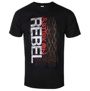 Tričko metal NAPALM RECORDS Satyricon Rebel Extravaganza černá