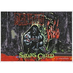HEART ROCK Danzig Satan Child