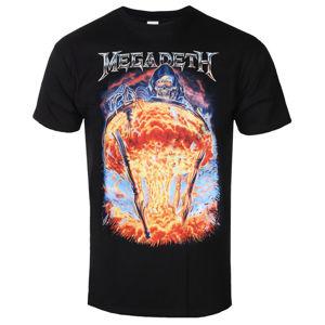 Tričko metal ROCK OFF Megadeth Countdown To Extinction černá L