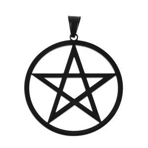 obojek ETNOX - Plain Pentagram - SK4105B