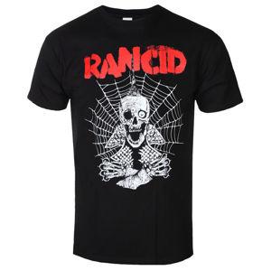 tričko pánské Rancid - Spiderweb - Black - KINGS ROAD - 20171761 M