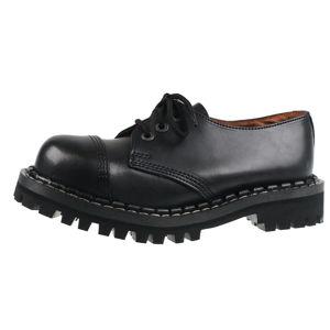 boty STEADY´S - 3 dírkové - Black - STE/3_black - POŠKOZENÉ - BH060 37