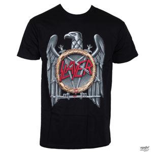 Tričko metal ROCK OFF Slayer Eagle černá béžová vícebarevná