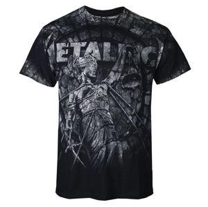 Tričko metal NNM Metallica Justice Stoned černá vícebarevná XXL