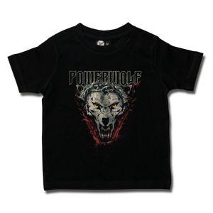 tričko metal Metal-Kids Powerwolf (Icon Wolf) černá 104