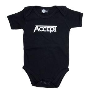 body dětské Accept - Logo - Black - Metal-Kids