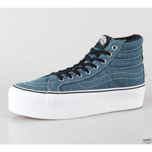 tenisky vysoké VANS U SK8-HI PLATFORM (Studded) bílá modrá 41
