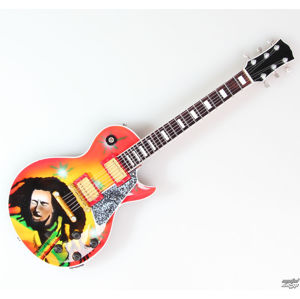kytara Bob Marley - Portrait - MINI GUITAR USA - BOBLP