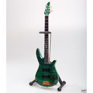kytara Dream Theater - John Myung - Turquoise - MINI GUITAR USA - JMY Green