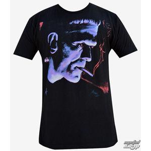 tričko hardcore BLACK MARKET Mike Bell černá šedá hnědá L