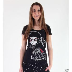 tričko hardcore Akumu Ink Black Widow černá L