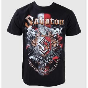 Tričko metal CARTON Sabaton Black černá XXL