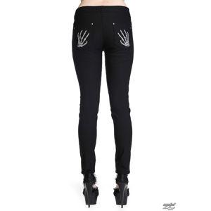 kalhoty plátěné BANNED Skeleton Hands 34