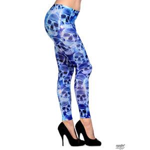 kalhoty plátěné BANNED Blue Skull 10
