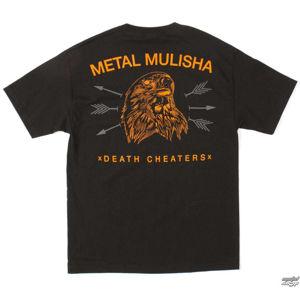 tričko street METAL MULISHA FREEBERD černá XL
