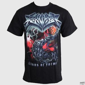 tričko metal RELAPSE Revocation Chaos Of Forms černá XXL