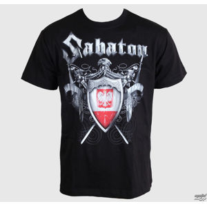 Tričko metal CARTON Sabaton 40:1 Always remember černá 3XL