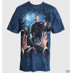 tričko MOUNTAIN Last Breath Adult vícebarevná modrá XL
