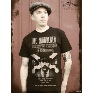 tričko hardcore SE7EN DEADLY Murderer černá S