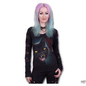 tričko SPIRAL Feline Fury černá XL