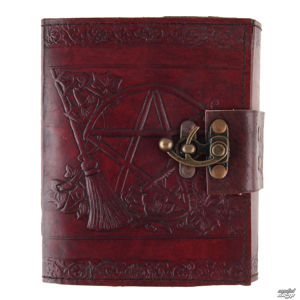poznámkový blok Pentagram Leather Emboss Journal - D1021C4