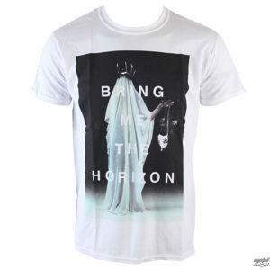 tričko metal ROCK OFF Bring Me The Horizon Cloaked bílá XL