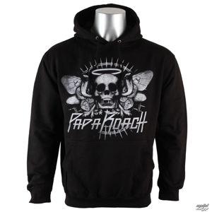 mikina s kapucí PLASTIC HEAD Papa Roach Cobra Skull černá M