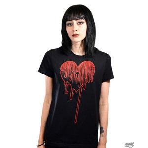 tričko hardcore Akumu Ink Bleeding Heart černá S