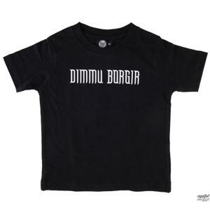 Tričko metal Metal-Kids Dimmu Borgir Logo černá 104