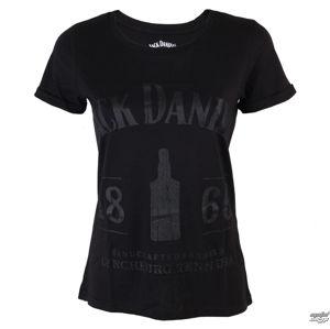 tričko street JACK DANIELS Jack Daniels 1866 černá S