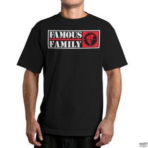 tričko street FAMOUS STARS & STRAPS Public Family černá