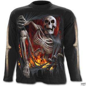 tričko SPIRAL Death Re-Ripped černá