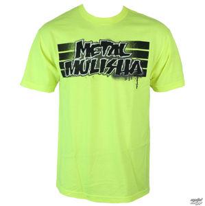 tričko street METAL MULISHA COST zelená S