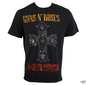 tričko metal AMPLIFIED Guns N' Roses AMPLIFIED černá S