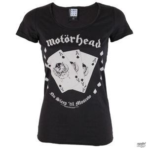 Tričko metal AMPLIFIED Motörhead Ace černá XL