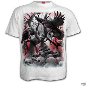 tričko SPIRAL DARK ROOTS černá bílá S