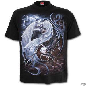 tričko SPIRAL YIN YANG černá S