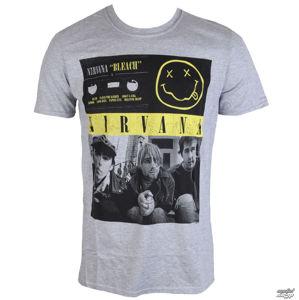 tričko metal PLASTIC HEAD Nirvana Bleach Tape Photo černá šedá M