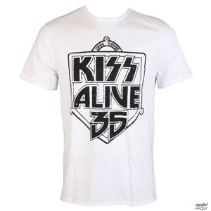 Tričko metal AMPLIFIED Kiss ALIVE 35 černá bílá