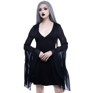 šaty KILLSTAR Black Veil XL