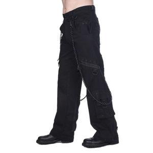 kalhoty gothic BLACK PISTOL Black 36