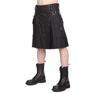 kilt BLACK PISTOL Denim L
