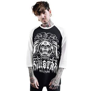tričko KILLSTAR Clairvoyant Raglan černá XXL