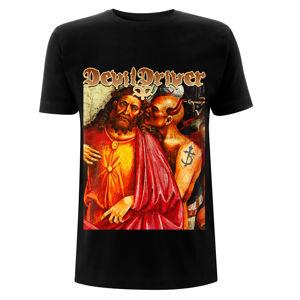 tričko metal NNM Devildriver Jesus Care Less černá XL