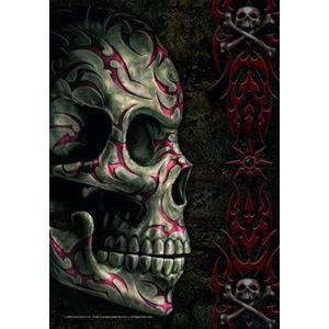 vlajka Spiral - Tatoo Skull - HFL0701
