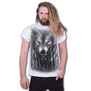 tričko SPIRAL FOREST WOLF černá M